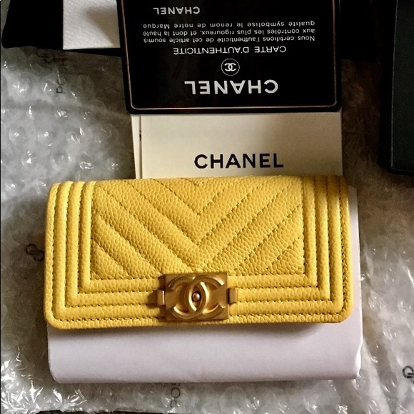 033c69cb1bfc CHANEL Bags | Nwt Boy Card Case Holder Wallet | Poshmark